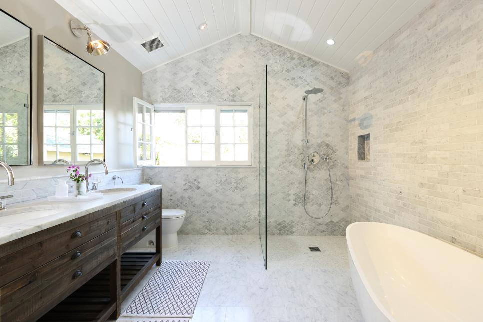 our 40 fave designer bathrooms | hgtv JSYFJLU