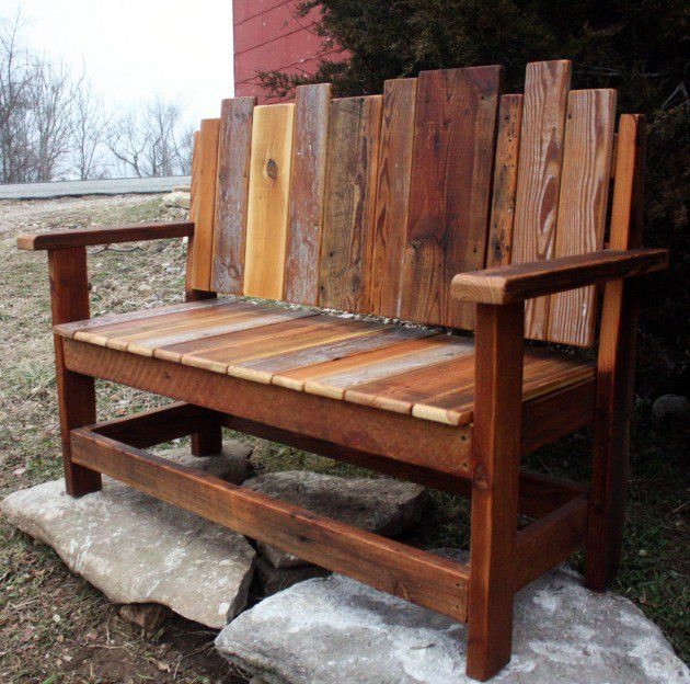 outdoor benches 18 beautiful handcrafted outdoor bench designs WJYTGEF