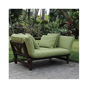 outdoor loveseat studio outdoor converting patio furniture sofa, couch, and love seat  folding lounge DRELGXS