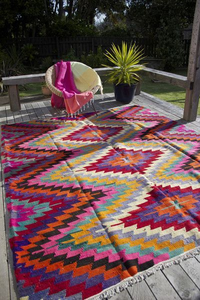 outdoor rugs des tapis sur la terrasse ! ZISPDNB