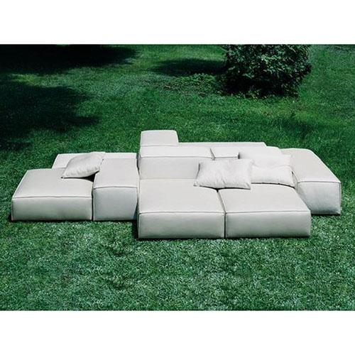 outdoor sofa extrasoft modular sofa (outdoor) ZQCMWSM