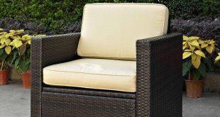 outdoor wicker chairs crosley furniture palm harbor outdoor wicker stackable chairs, 4pk -  walmart.com DEJBQQB