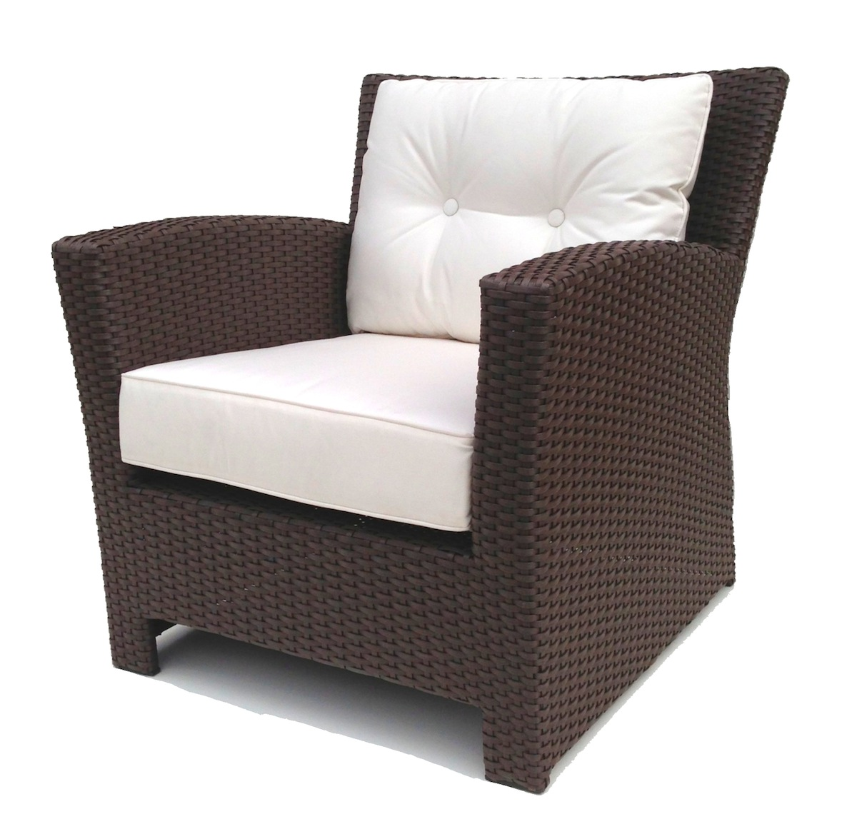 outdoor wicker chairs outdoor wicker club chair KPFGPNM