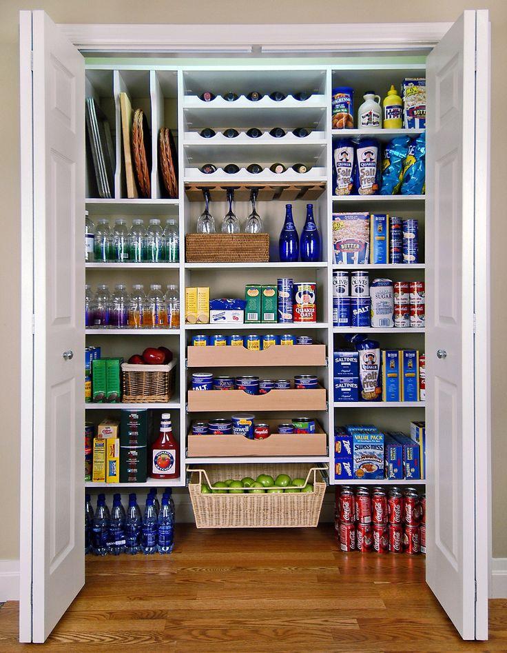 pantry organizers pantry makeover with easy custom diy shelving from melamine u0026 1x2 pine OXDSDEU