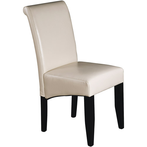 parsons chairs metro parsons chair, cream leather ZTIBTDK