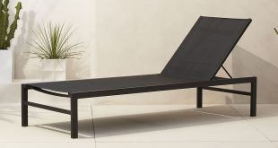 patio chaise lounge idle black outdoor chaise lounge ... KIZSTKU