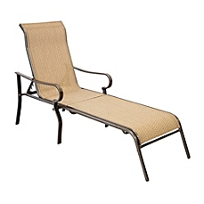 patio chaise lounge image of hawthorne oversized adjustable sling chaise lounge UAGCJLA