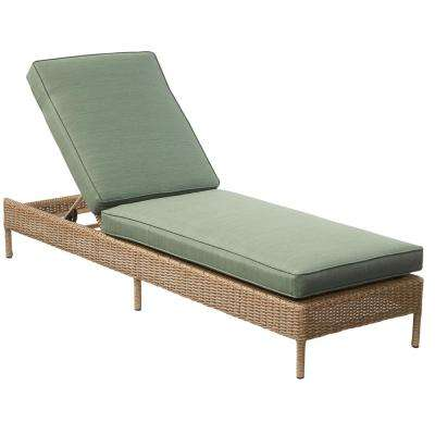 patio chaise lounge lemon grove wicker outdoor chaise lounge ... FFKEUJO