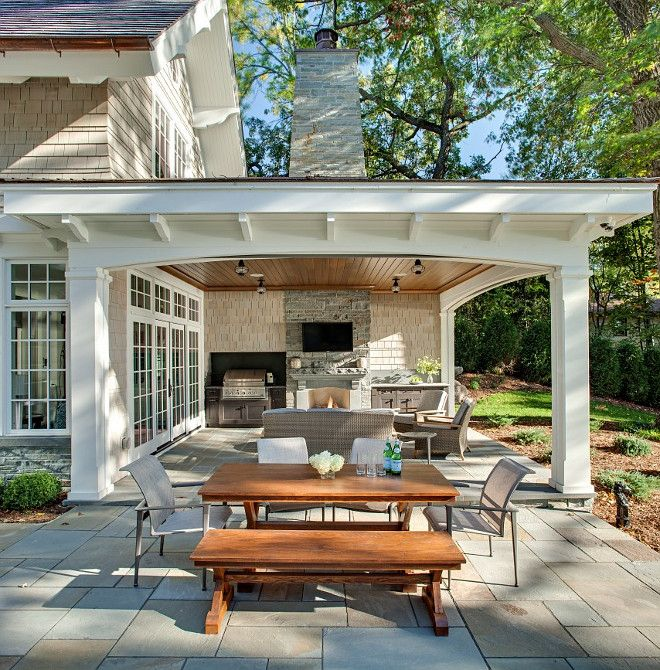 patio. combination of open patio and covered patio with outdoor kitchen and ZHLXNVZ