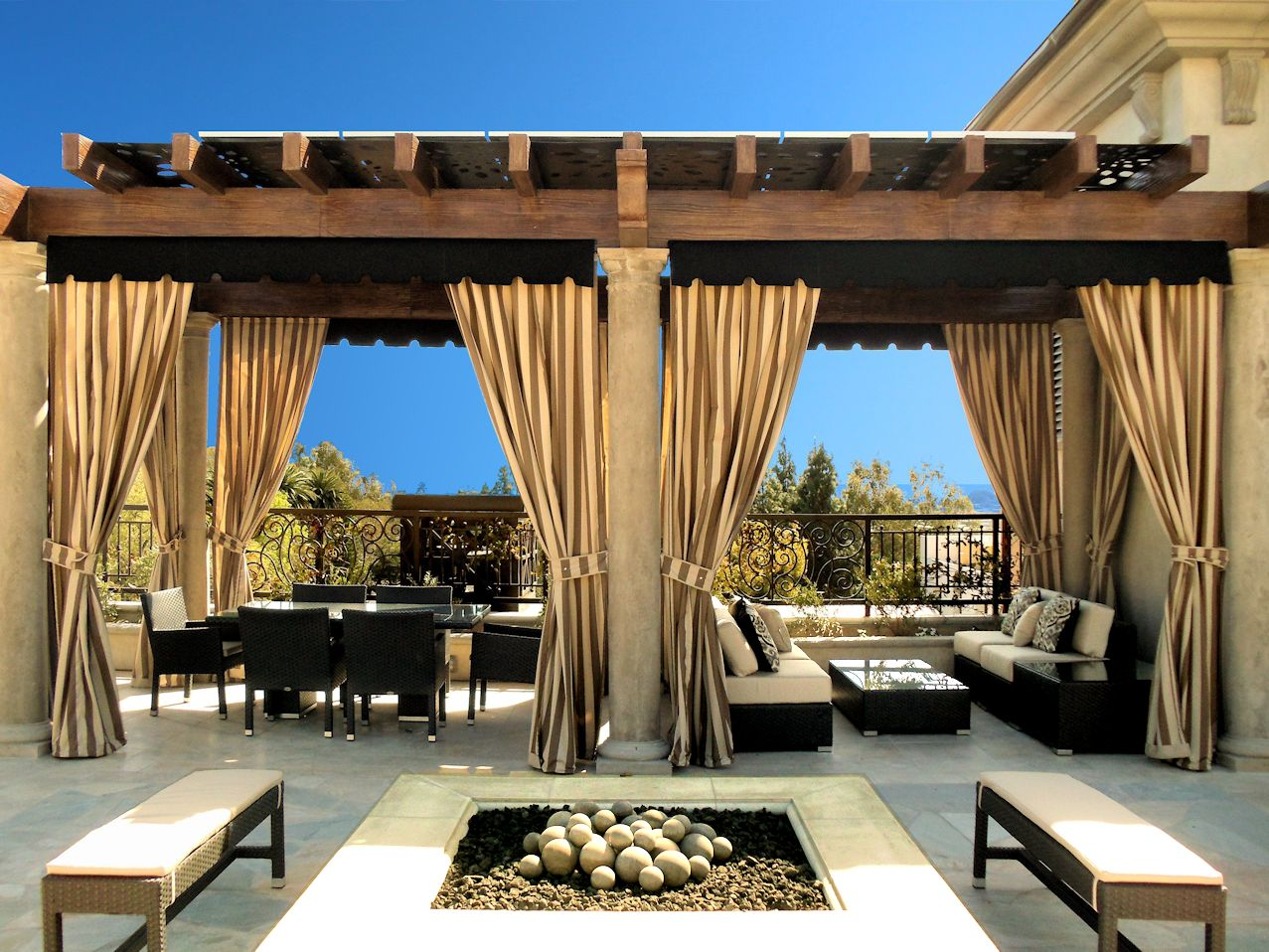patio curtains outdoor curtains, drapes and shades DVYWPSJ