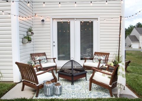 patio decorating ideas how to decorate a small patio OZZOQTR