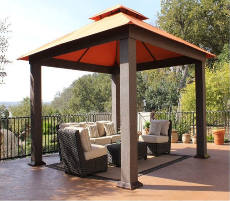 patio gazebo cover ideas CPSSOYN