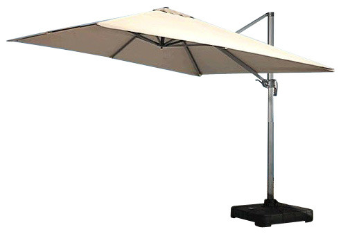 patio umbrellas ... renava modern patio umbrella with base contemporary outdoor regarding patio  umbrella CTJXFFM