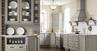 pebble gray kraftmaid cabinets - google search more PNKYRAV