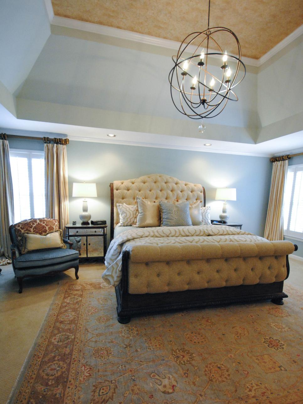pictures of dreamy bedroom chandeliers | hgtv NJJGTZI