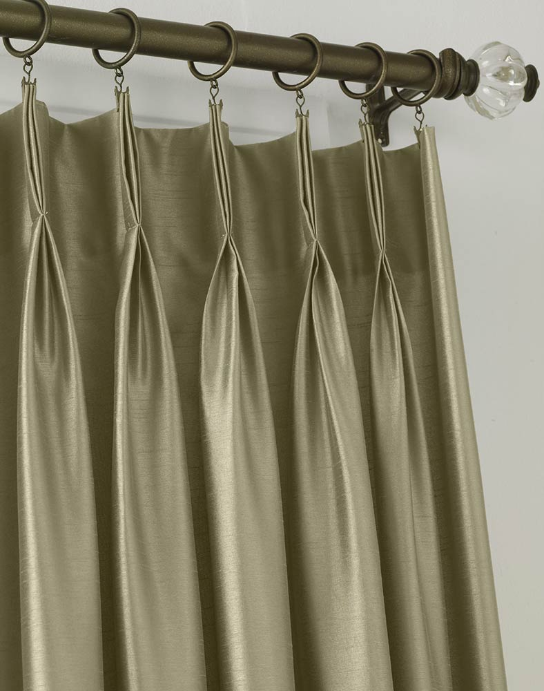 pinch pleat drapes ... ? XUJQDNY