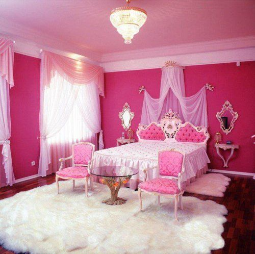 pink bedroom 15 pink girlu0027s bedroom 2014 : inspire pink room designs ideas for girls HVEDWZE