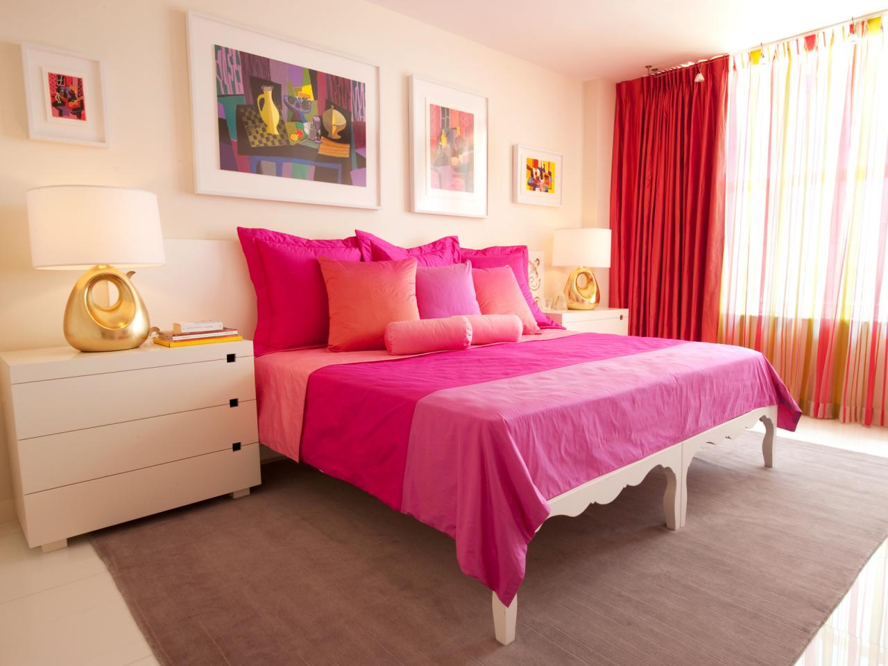The most beautiful experience of living in a Pink bedroom