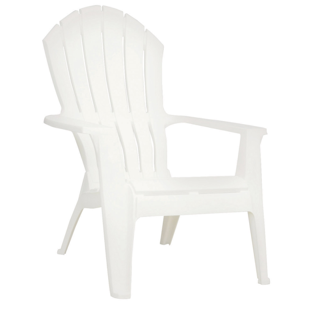 plastic adirondack chairs adams realcomfort adirondack chair 1 pc. white (8371-48-3700) - OVTESDY