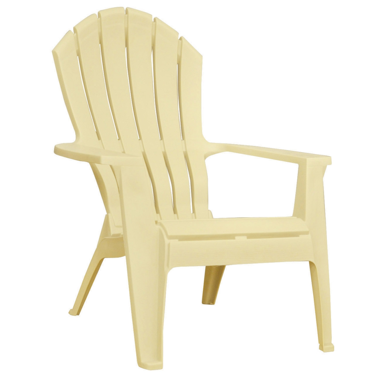 plastic adirondack chairs adams realcomfort adirondack chair 1 pc. yellow (8371-10-3700) - OUJKLTZ