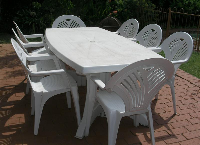 plastic patio furniture popular of plastic table and chairs with plastic outdoor table and chairs LJBEILW