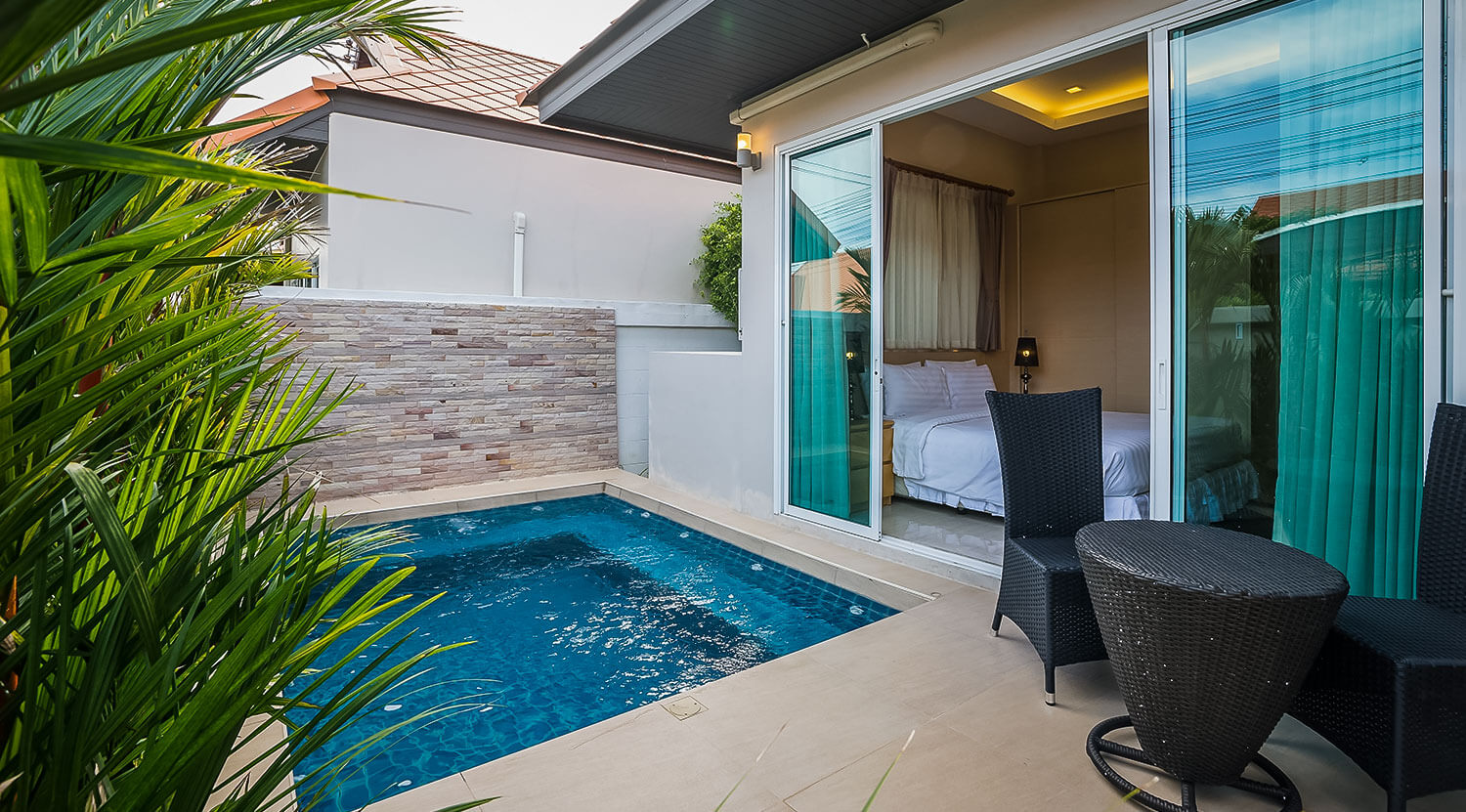 plunge pool 2 bedroom villa KWGLAEV