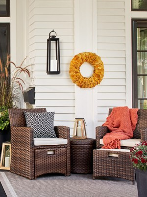 porch furniture small-space sets with big-time style PFKGHWU