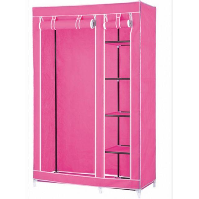 portable wardrobe closets | cute pink portable wardrobe closet storage  ideas for LDIJUGV