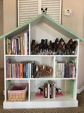 pottery barn kids dollhouse bookcase - retired - vguc GWLHKJH