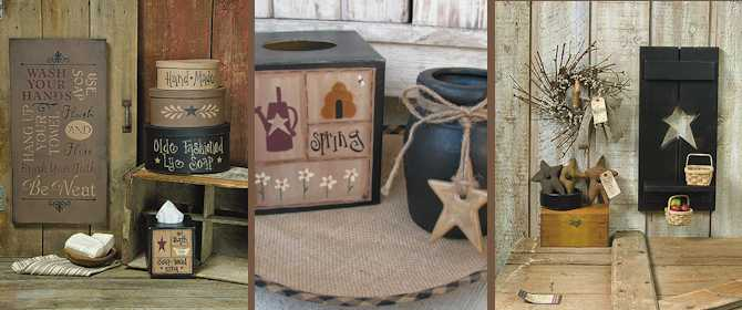 primitive home decor | country home decor | gainers creek crafts TBELXXU