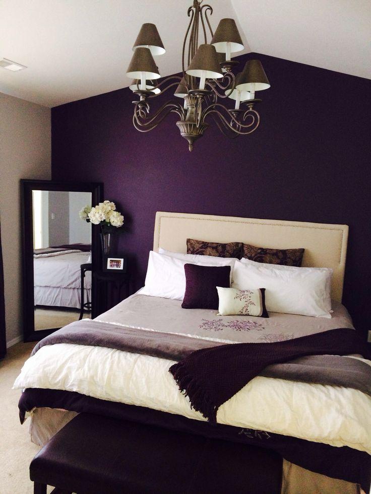 purple bedroom grey bedroom colors MGFECLR
