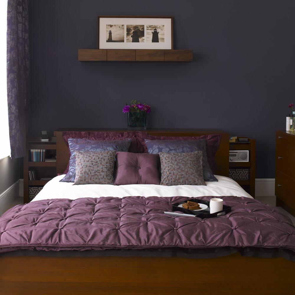 purple bedroom ideas | ideal home SDTORDJ