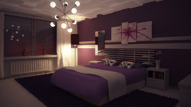 purple bedrooms 15 ravishing purple bedroom designs | home design lover MFTUTCV