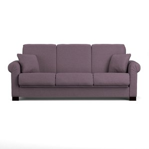 purple sofa lawrence full convertible sleeper sofa ZSOMKNC