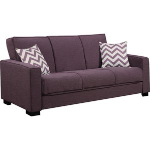 purple sofa swiger convertible sleeper sofa DKHWNYF