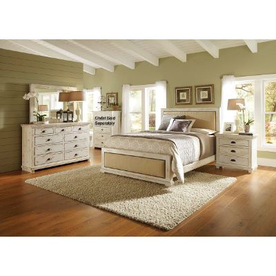 queen bedroom sets willow 6-piece queen bedroom set KVKNNWN