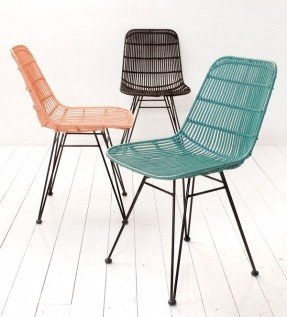 rattan dining chairs by hk living #interior #chair ROTLGRG