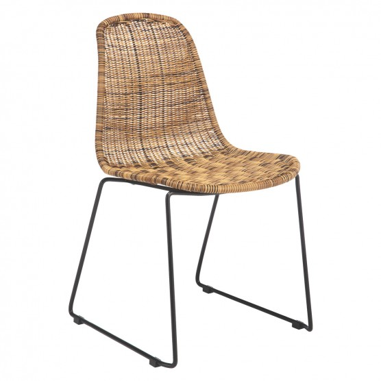 rattan dining chairs mickey synthetic rattan dining chair OYHGFQF