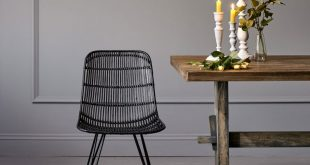 rattan dining chairs rattan dining chair in black OYRWGNP
