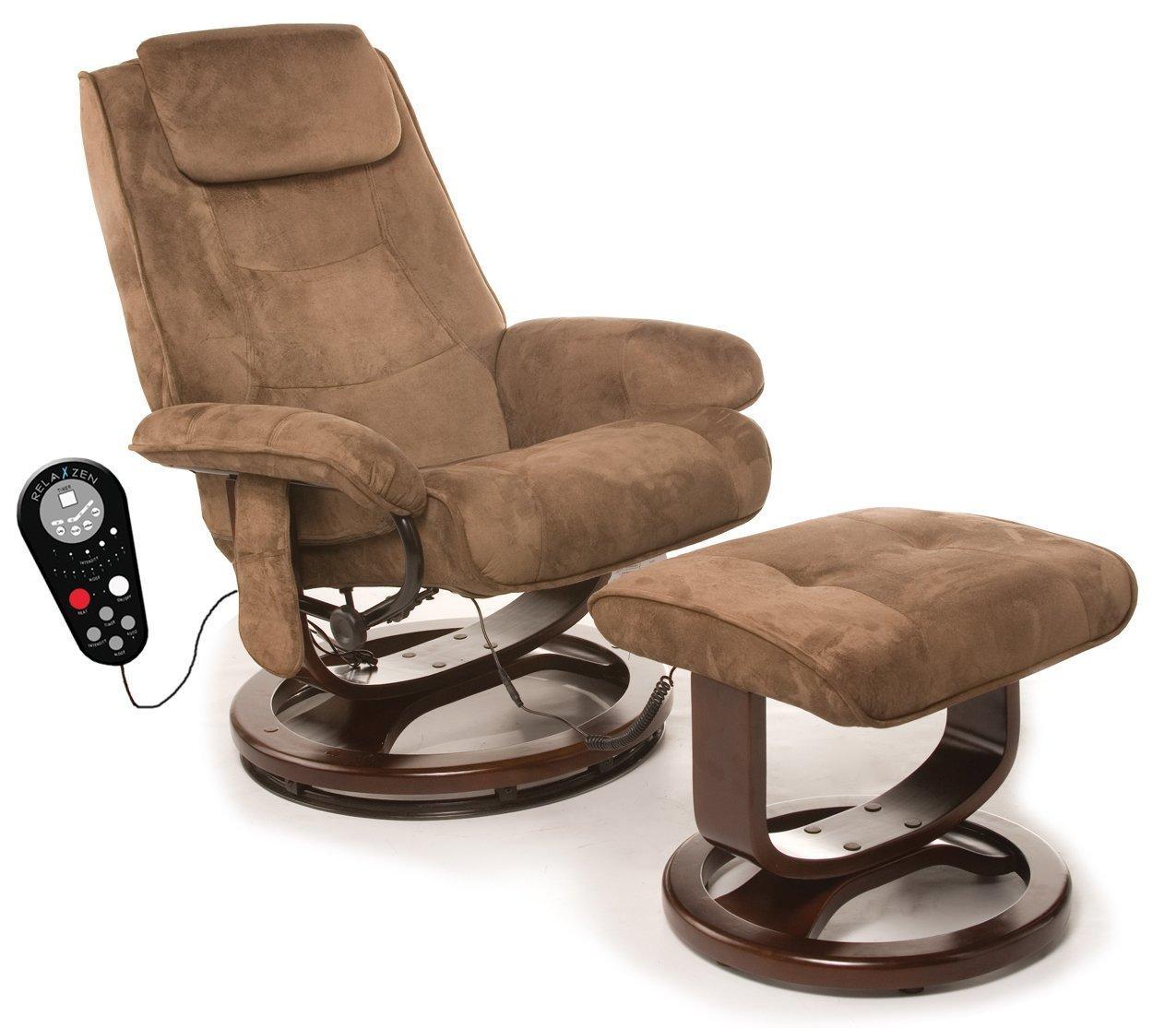 reclining chairs amazon.com: relaxzen 60-078011 deluxe leisure recliner chair with 8-motor  massage u0026 heat, OTGCOER