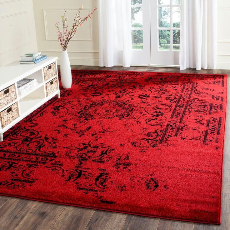 Vibrant Red Rugs for your place
