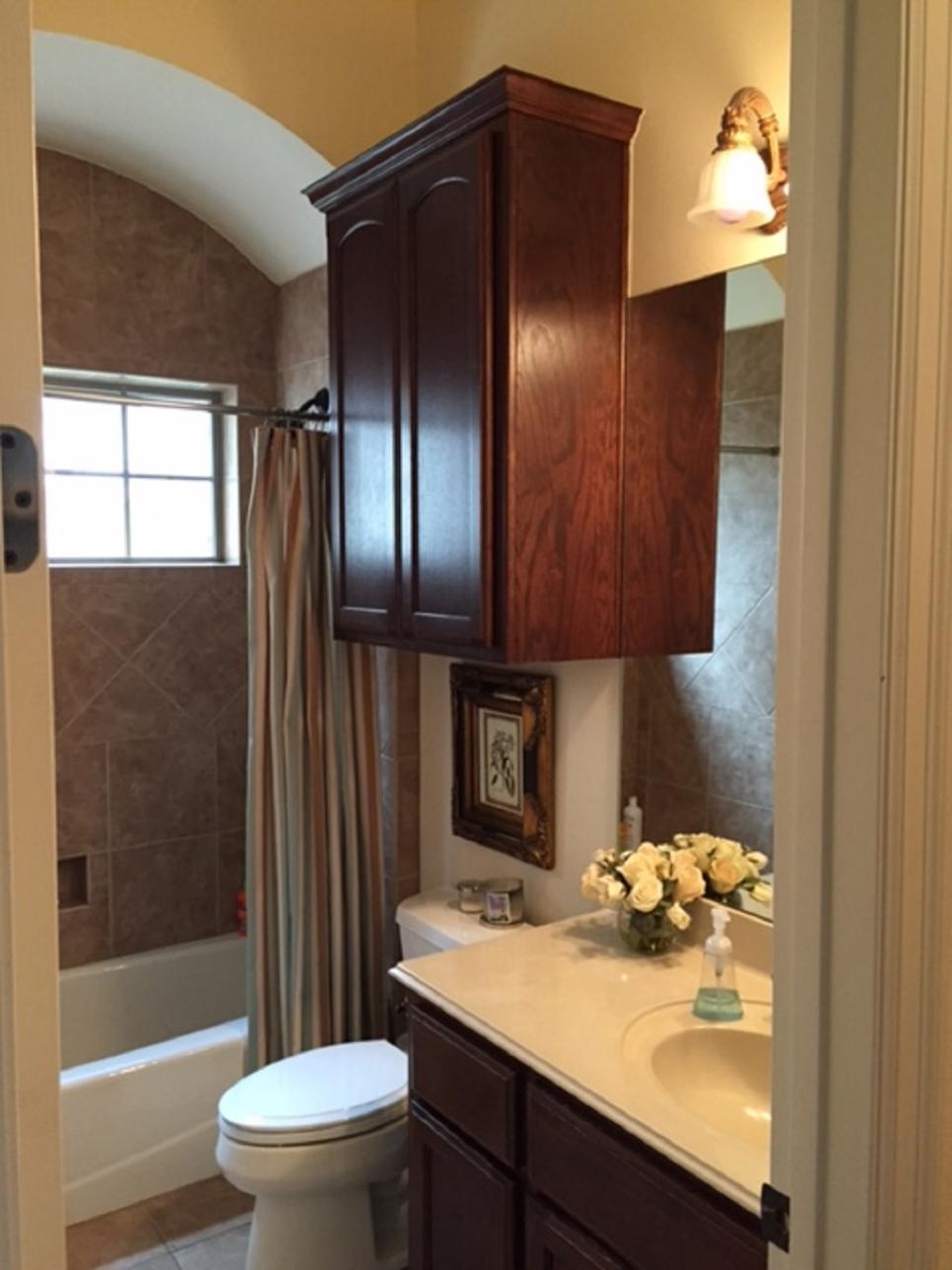 remodeling bathroom before-and-after bathroom remodels on a budget | hgtv CNEFKQZ