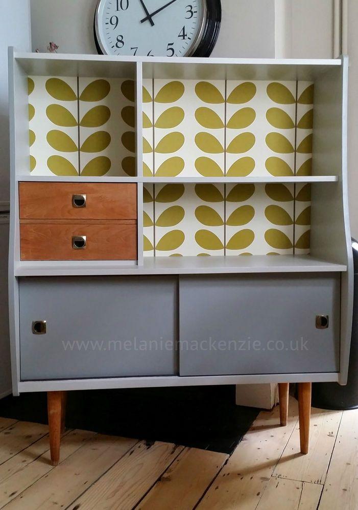 retro furniture bespoke vintage retro cabinet orla kiely YODIBXY