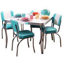 retro furniture dinette sets QNPWBYV