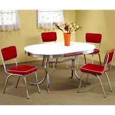 retro furniture retro kitchen chairs 50s style furniture vintage chrome mid century set of 2 YHLTWGZ