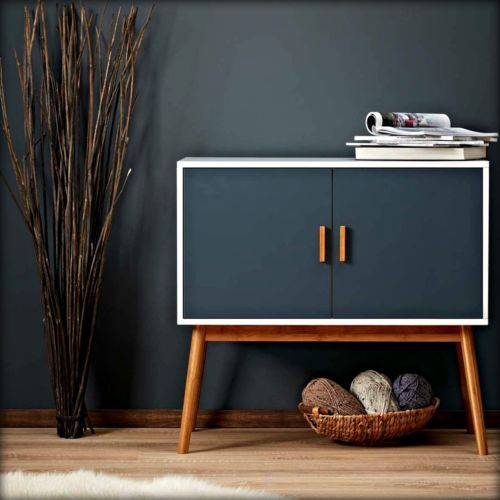 retro furniture wooden storage display cabinet box chest retro modern vintage furniture  bedroom SXJBFJN