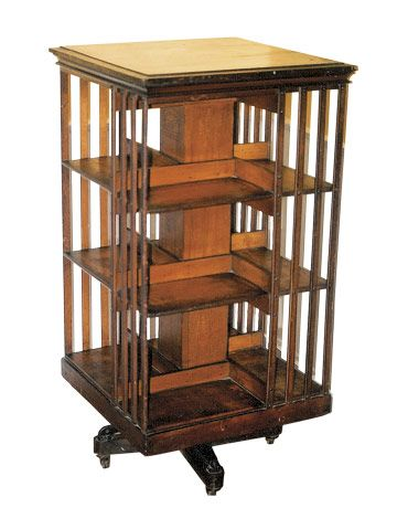 revolving bookcase just like my grandmotheru0027s rotating bookcase, which is now in my home. one IURMLOF