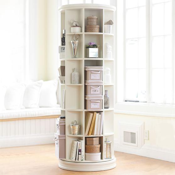 revolving bookcase scroll to previous item DTEEGLX