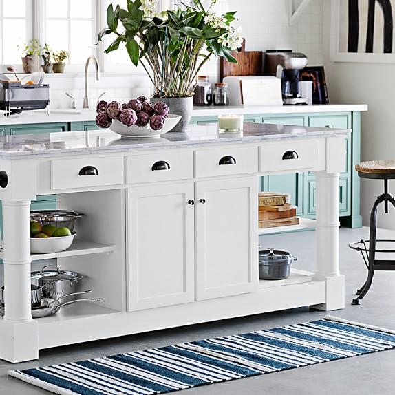 riviera stripe kitchen rug JIUMYSY