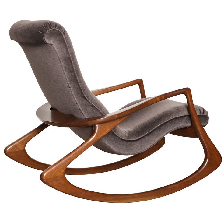 rocking chairs contour rocking chair by vladimir kagan | from a unique collection of JXSISUK